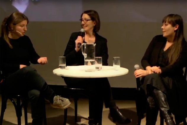 Anna Vasov, Maria C. Holter und Yasmin Hafedh