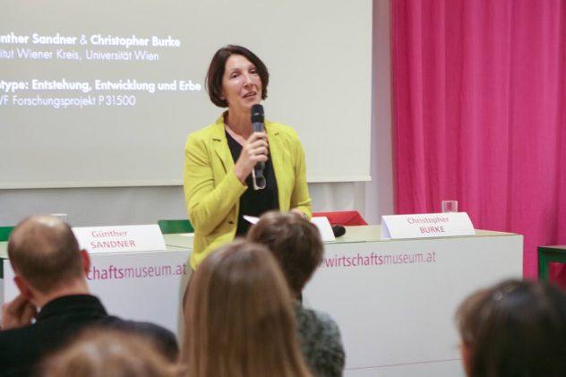 2019 Isotyper Diskussion, Wirtschaftsmuseum Wien, Foto Yvonne Heigl