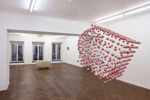 Exhibition Modular Construction by Canan Dagdelen at Projektraum Viktor Bucher, Vienna, Austria, 13.11.2015 – 16.01.2016