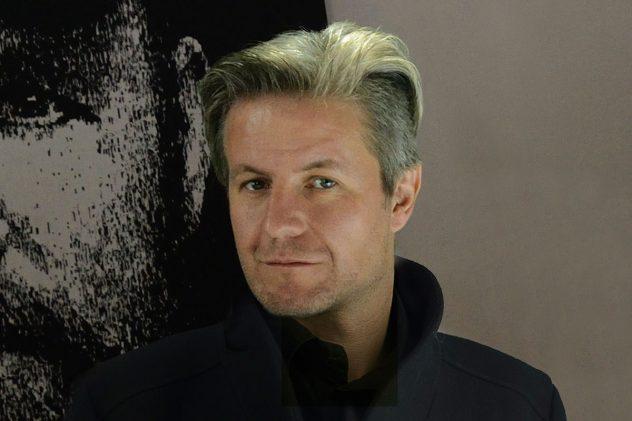Männerportrait von einem Bild mit Gesichtsauschnitt