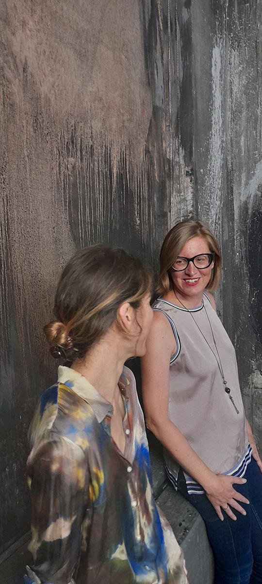 Linda Berger und Nina Schedlmayer